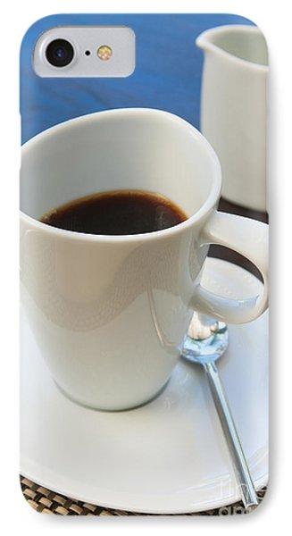 Coffee Sir Phone Case by Atiketta Sangasaeng
