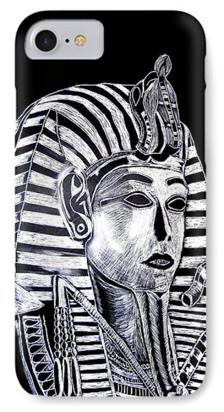 Coffin Of The King IPhone Case by Lisa Brandel