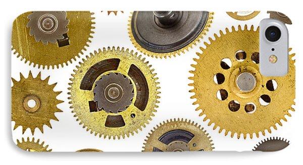 Cogwheels - Gears Phone Case by Michal Boubin