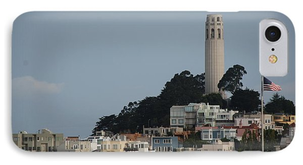 IPhone Case featuring the photograph Coit Tower by Eric Tressler