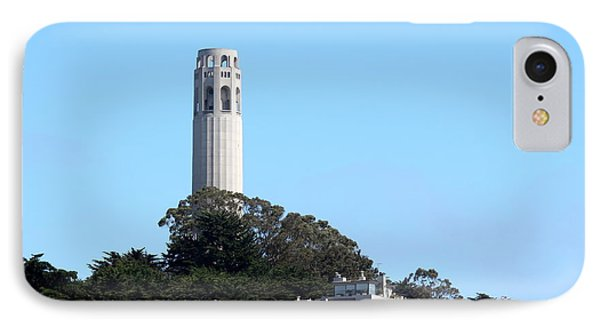 Coit Tower IPhone Case by Henrik Lehnerer
