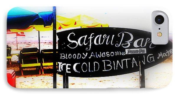 Cold Bintang At The Safari Bar In Bali IPhone Case by Funkpix Photo Hunter