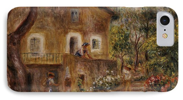 Collette's House At Cagne Phone Case by Pierre Auguste Renoir