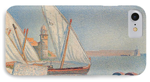 Collioure Les Balancelles Phone Case by Paul Signac