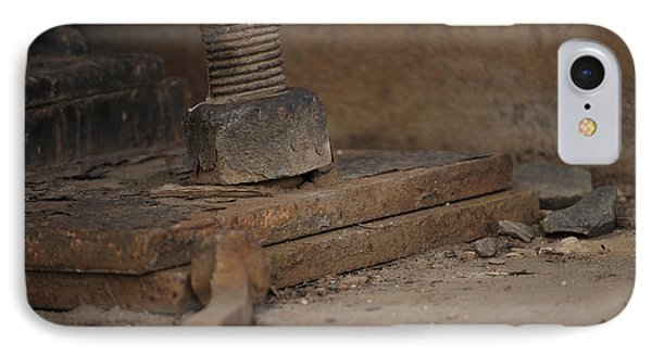 IPhone Case featuring the photograph Color Of Steel 1 by Fran Riley