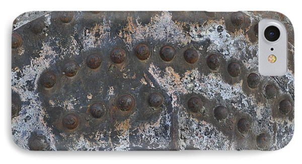 IPhone Case featuring the photograph Color Of Steel 7a by Fran Riley
