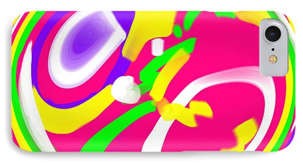 IPhone Case featuring the digital art Color Roundup by George Pedro