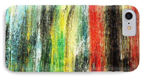 Color Water Color Painting IPhone Case by Sumit Mehndiratta