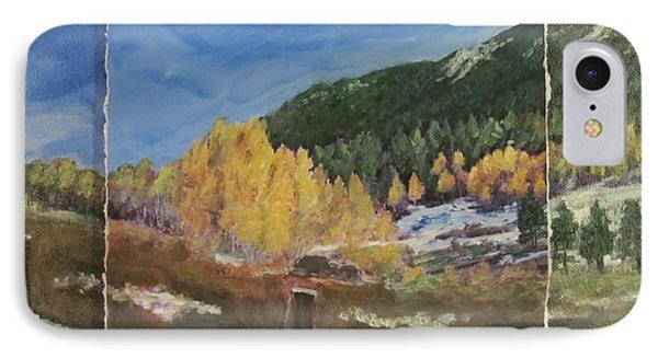 Colorado Almost Winter Phone Case by Anita Burgermeister
