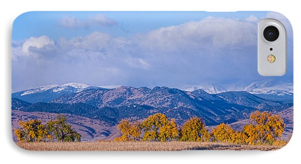 Colorado Autumn Morning Scenic View Phone Case by James BO  Insogna
