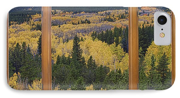 Colorado Autumn Picture Window Frame Art Photos Phone Case by James BO  Insogna