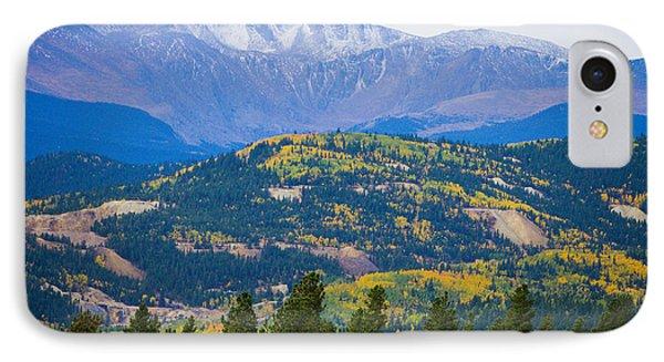 Colorado Rocky Mountain Autumn View Phone Case by James BO  Insogna