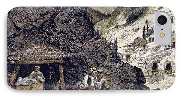 Colorado Silver Mines, 1874 Phone Case by Granger