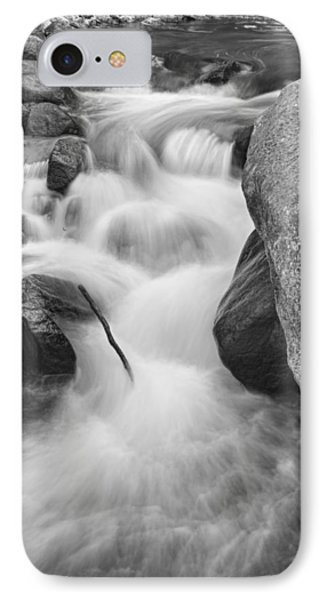 Colorado St Vrain River Trance Bw Phone Case by James BO  Insogna