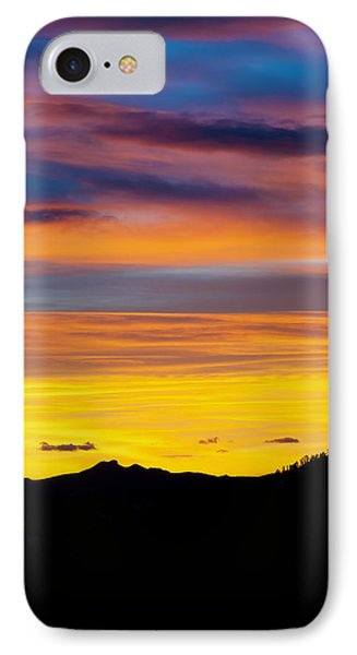 Colorado Sunrise -vertical IPhone Case by Beth Riser