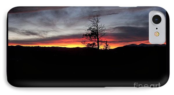 Colorado Sunset IPhone Case by Angelique Olin