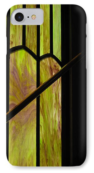 IPhone Case featuring the photograph Colored Glass by Cheryl Perin