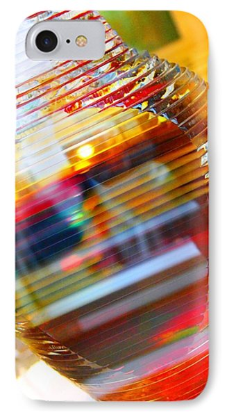 IPhone Case featuring the painting Colored Vase At The Mayo Clinic by Laura  Grisham