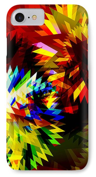 Colorful Blade Phone Case by Atiketta Sangasaeng