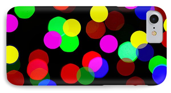 Colorful Bokeh Phone Case by Paul Ge