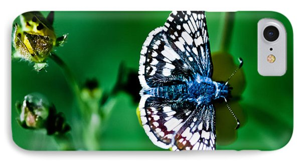 Colorful Butterfly Phone Case by Mitch Shindelbower