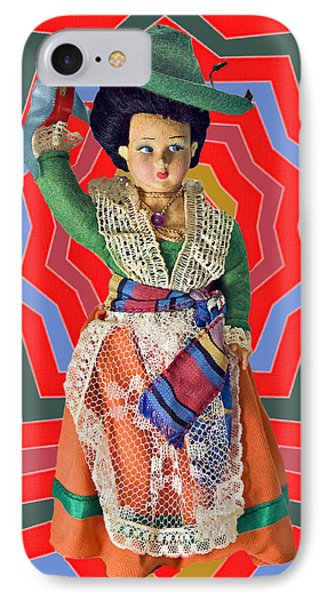 Colorful Doll Phone Case by Susan Leggett