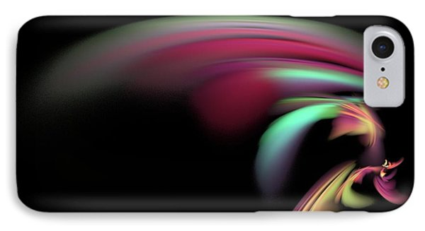 IPhone Case featuring the digital art Colorful Flash by Ester  Rogers