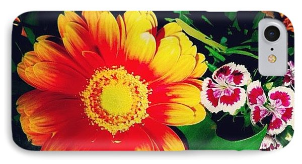 Colorful Flowers IPhone Case by Matthias Hauser
