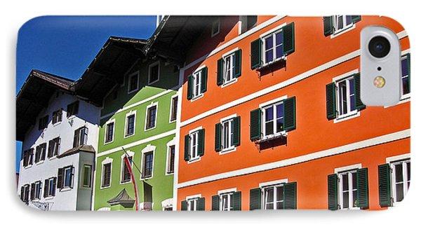 Colorful Kitzbuehel - Austria Phone Case by Juergen Weiss