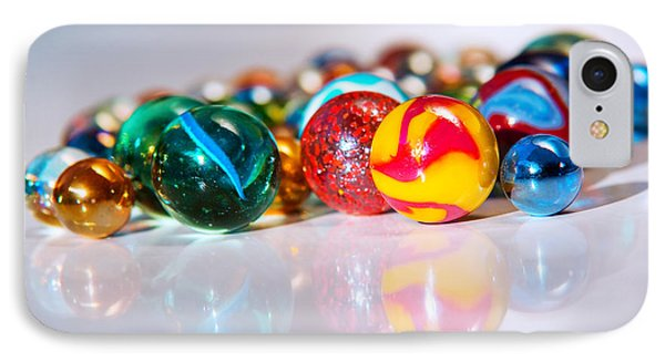 Colorful Marbles Phone Case by Carlos Caetano
