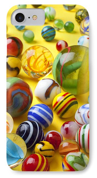 Colorful Marbles Phone Case by Garry Gay