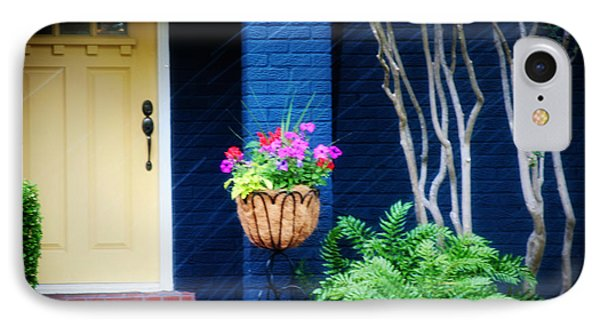 Colorful Porch Phone Case by Toni Hopper