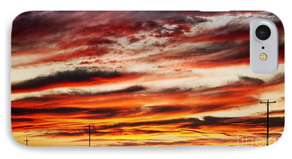Colorful Rural Country Sunrise Phone Case by James BO  Insogna