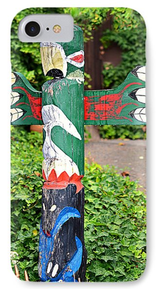 Colorful Totem Phone Case by Susan Leggett