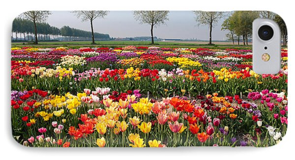 IPhone Case featuring the photograph Colorful Tulips by Hans Engbers