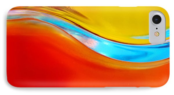 Colorful Wave Phone Case by Carlos Caetano