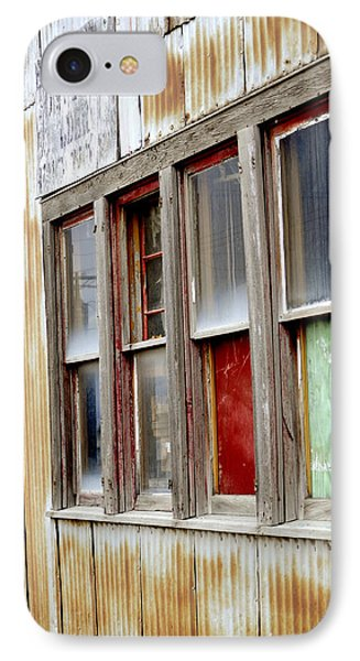 IPhone Case featuring the photograph Colorful Windows by Fran Riley
