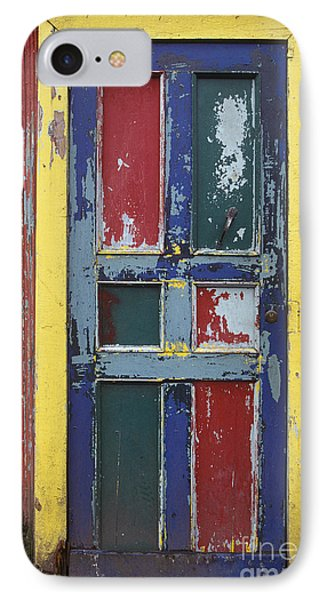 Colorful Wooden Door Phone Case by Will & Deni McIntyre