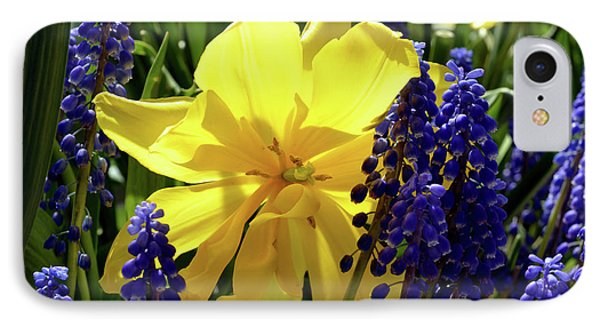IPhone Case featuring the photograph Colors Of Spring by Pravine Chester