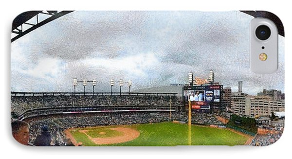 Comerica Park Home Of The Detroit Tigers IPhone Case