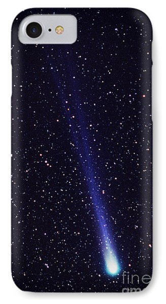 Comet Hyakutake Phone Case by Jerry Schad and Photo Researchers