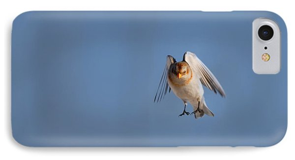 Bunting iPhone 7 Case - Coming In For A Landing by Susan Capuano