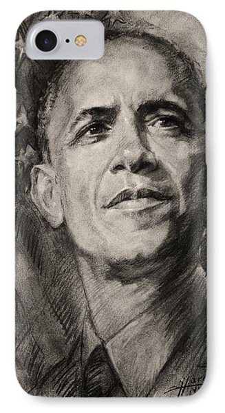 Commander-in-chief IPhone Case by Ylli Haruni