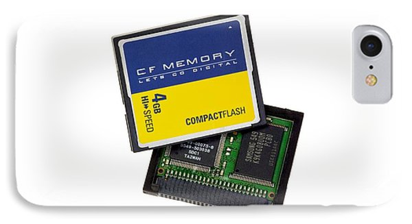 Compact Flash Memory Card IPhone Case