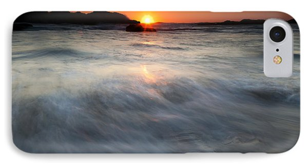 Concealed By The Tides Phone Case by Mike  Dawson