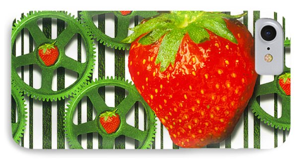 Conceptual Image Of Genetically-engineered Fruit Phone Case by Victor Habbick Visions