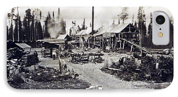 Concord New Hampshire - Logging Camp - C 1925 Phone Case by International  Images