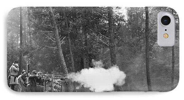Confederate Breastworks Carnifax Ferry Phone Case by Thomas R Fletcher