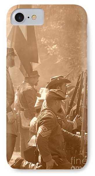 Confederate Breastworks Carnifex Ferry IPhone Case by Thomas R Fletcher