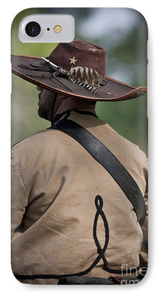 Confederate Cavalry Soldier IPhone Case